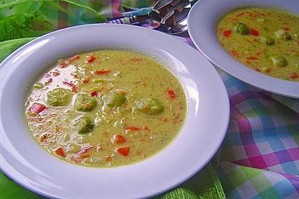 Gemüseeintopf mit Kokosmilch 3