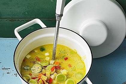 Gemüseeintopf mit Kokosmilch 0