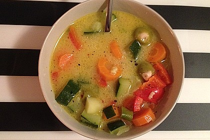 Gemüseeintopf mit Kokosmilch 4