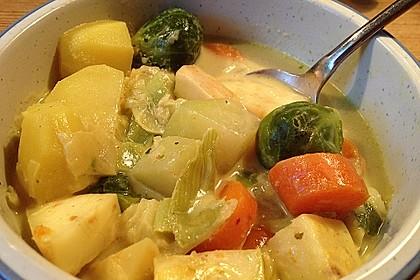 Gemüseeintopf mit Kokosmilch 14