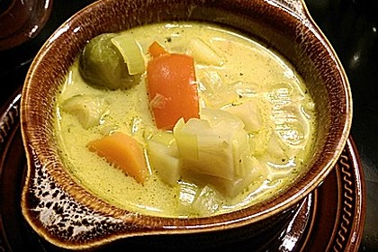 Gemüseeintopf mit Kokosmilch 10