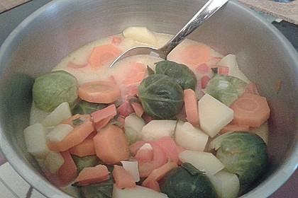 Gemüseeintopf mit Kokosmilch 22