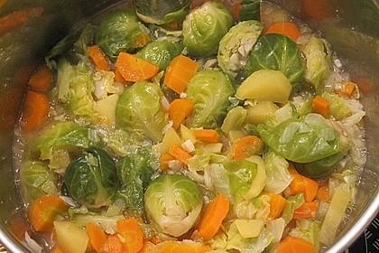 Gemüseeintopf mit Kokosmilch 20