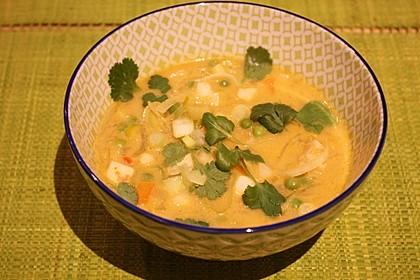 Gemüseeintopf mit Kokosmilch 11