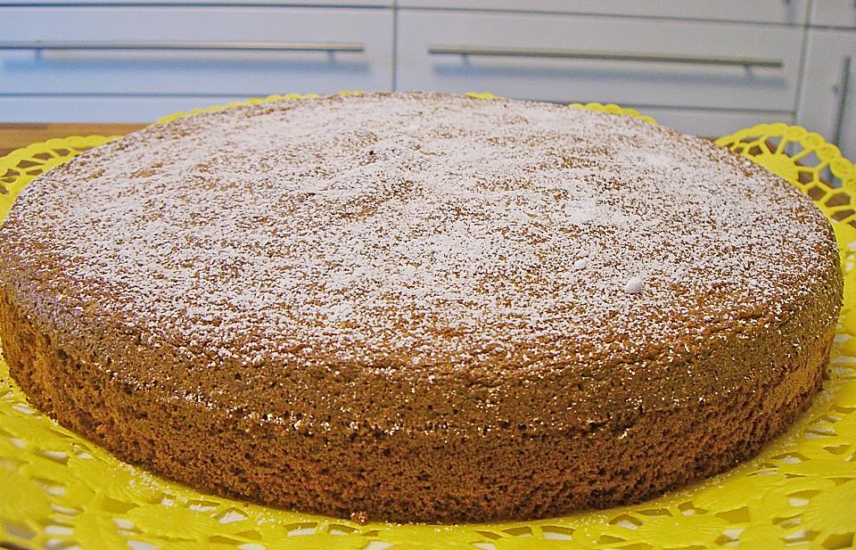 Mallorquinischer mandelkuchen kuchen