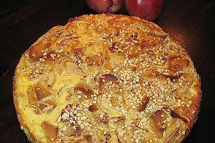 Apfelrahmkuchen  à la francaise 1