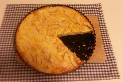 Apfelrahmkuchen  à la francaise 2