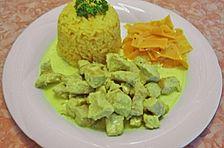 Puten - Curry - Sahne - Gulasch