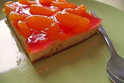 Zitronen - Mandarinen - Quark - Kuchen 1