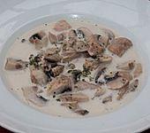 Champignon-Sahne Süppchen
