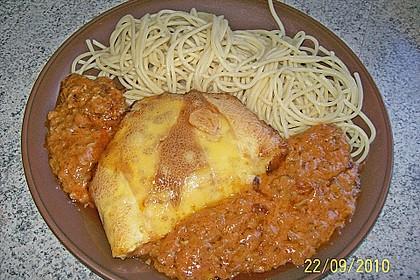 Bolognese - Schnitzel 1