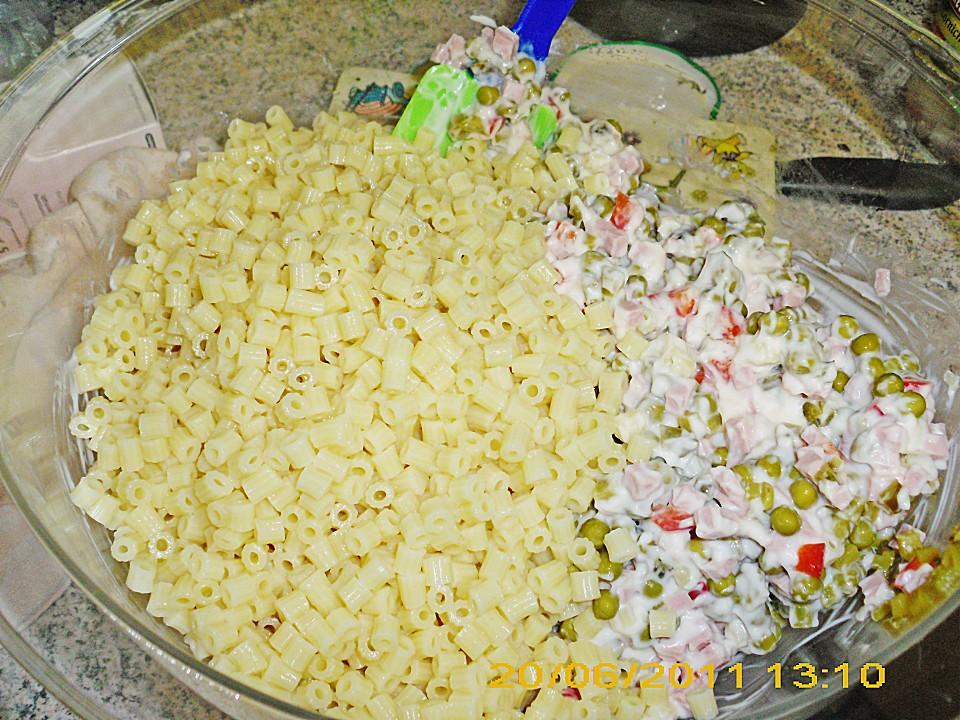 karins schneller nudelsalat rezept mit bild von assi
