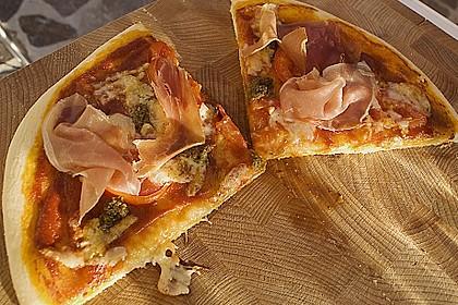Pizzateig, mit wenig Hefe 3