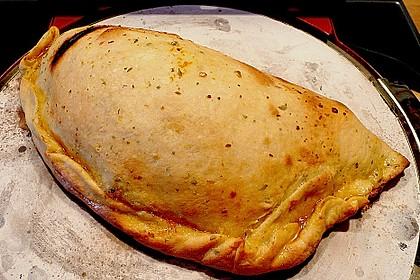 Pizzateig, mit wenig Hefe 12
