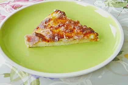 Pizzateig, mit wenig Hefe 43