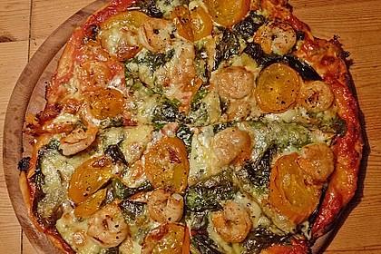 Pizzateig, mit wenig Hefe 25