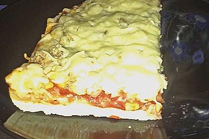 Pizzateig, mit wenig Hefe 48