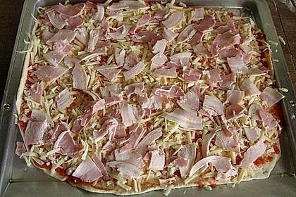 Pizzateig, mit wenig Hefe 29