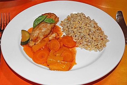 Gemüse - Hähnchen - Pfanne 1