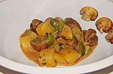 Kartoffel - Pilz - Gulasch