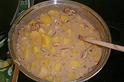 Kartoffel - Pilz - Gulasch 15