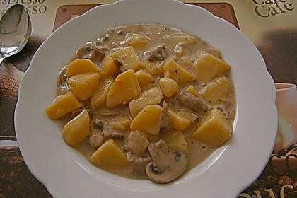 Kartoffel - Pilz - Gulasch 6