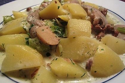 Kartoffel - Pilz - Gulasch 4