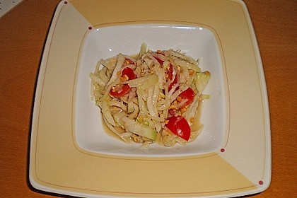 Grüner Papaya Salat 1