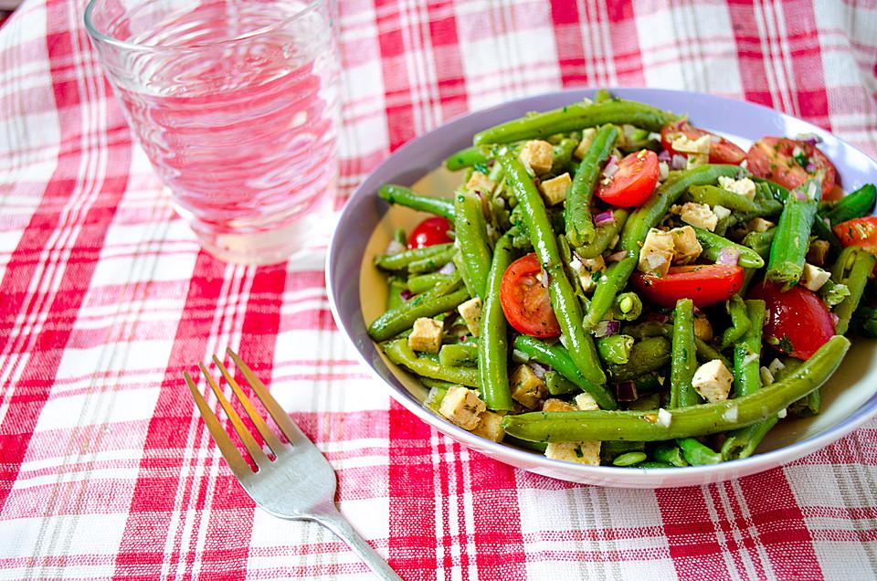 gr ne bohnen feta salat rezept mit bild von jacktel. Black Bedroom Furniture Sets. Home Design Ideas