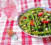 Grüne Bohnen - Feta - Salat