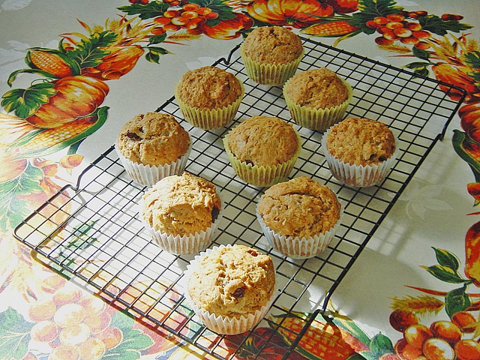 apfel muffins mit rosinen von pumpkin pie. Black Bedroom Furniture Sets. Home Design Ideas