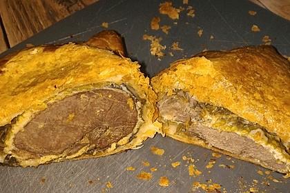 Rehrücken im Strudelteig gebacken 10