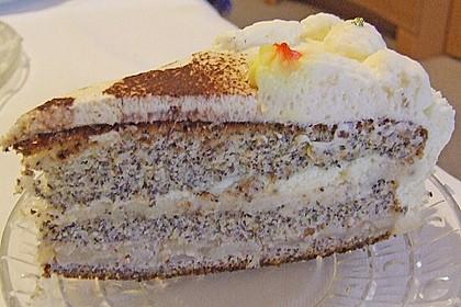 Apfel - Mohn - Marzipan - Torte 15