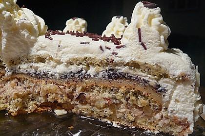 Apfel - Mohn - Marzipan - Torte 7