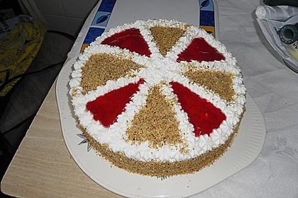 Apfel - Mohn - Marzipan - Torte 8