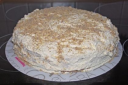 Apfel - Mohn - Marzipan - Torte 9