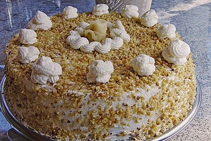Apfel - Mohn - Marzipan - Torte 6