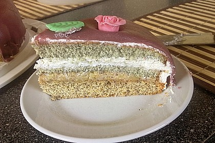 Apfel - Mohn - Marzipan - Torte 18