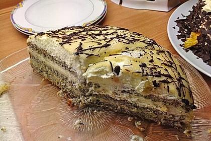 Apfel - Mohn - Marzipan - Torte 25