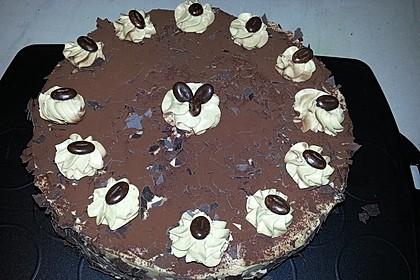 Mokka - Buttercreme - Torte 28