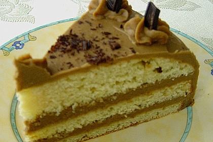 Mokka - Buttercreme - Torte 42