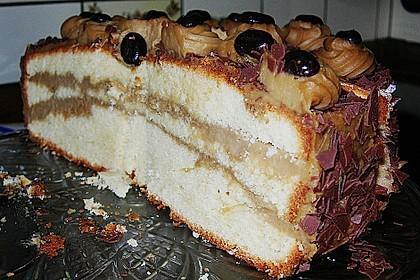 Mokka - Buttercreme - Torte 45