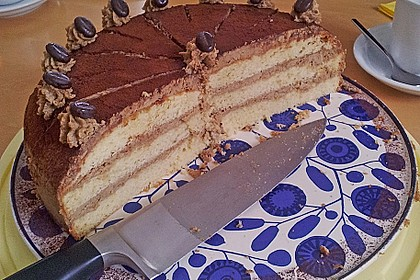 Mokka - Buttercreme - Torte 23