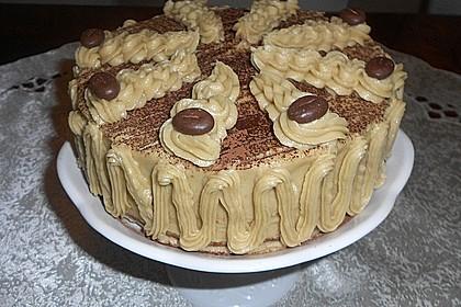 Mokka - Buttercreme - Torte 20