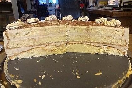 Mokka - Buttercreme - Torte 58