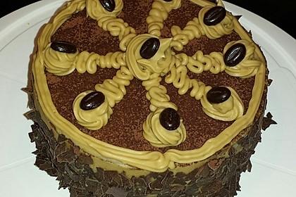Mokka - Buttercreme - Torte 36