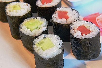 Dünne Sushi-Rollen 1