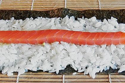 Dünne Sushi-Rollen 3