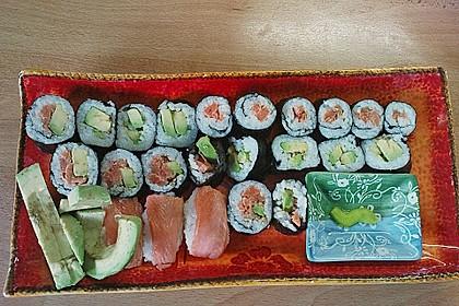 Dünne Sushi-Rollen 8