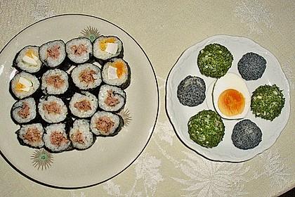 Dünne Sushi-Rollen 9